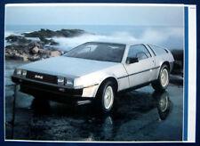 PROSPEKT BROCHURE ORIGINALE 1981 DeLorean (USA) NOS 6 pagine