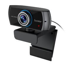 Besteker Full HD C920 Webcam Full 1536P Widescreen Video Calling and Recording