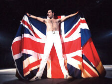 Freddie Mercury UNSIGNED photograph - M853 - Lead singer with Queen - NEW IMAGE!