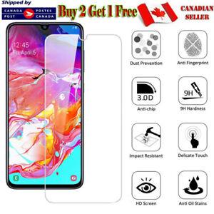 For Samsung Galaxy A71 A51 A11 A31 A21 A21s A10e Tempered Glass Screen Protector