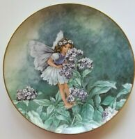 The HELIOTROPE FAIRY Plate Heinrich Villeroy and Boch Germany #7883/D 4th Issue