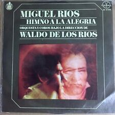"""MIGUEL RIOS HIMNO A LA ALEGRIA / NO SABES COMO SUFRI MEXICAN 7"""" EP PS ROCK EN ES"""
