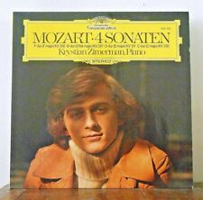 Krystian Zimmerman Mozart 4 Piano Concertos DGG 2531 052 Stereo NM