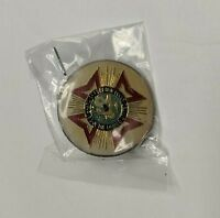 Vintage VFW Lapel Pin Seal Enamel Veterans of Foreign Wars of United States