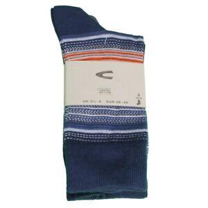 Camel active Socken Doppelpack blau gemustert 6214 396