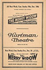 """Diana Barrymore """"REBECCA"""" Florence Reed / Daphne Du Maurier 1944 Tryout Playbill"""
