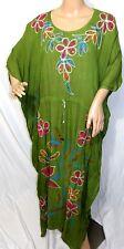 Riviera Sun Femme Plus un Taille Libre Vert Rose Dy Floral Tunique Caftan Robe