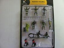 K-Line Fireman Figures Set 6-21445   2002 Vintage  Mint on Card
