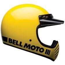 Bell Moto-3 Motorcycle Helmet - Classic Yellow - 2X