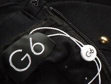 G6 BlackStuddedSexyStretchBandagePartySzS NWT