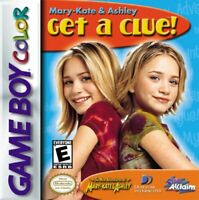 Mary-Kate & Ashley: Get A Clue - Nintendo Game Boy Color