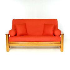 Fabric Orange Futons Frames Covers