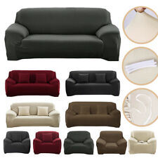 1/2/3 Seater Extra Stretch Spandex Couch Sofa Lounge Covers Recliner Protector