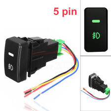 5 Pin LED Car Push Button Fog Light Switch wire For Honda Civic Accord CRV Fit