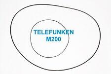 SET CINGHIE TELEFUNKEN M 200 REGISTRATORE A BOBINE BOBINA NUOVE FRESCHE M200