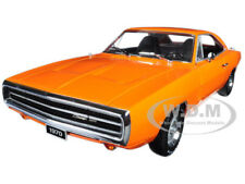1970 DODGE CHARGER HEMI ORANGE 1:18 DIECAST MODEL CAR BY GREENLIGHT 19028