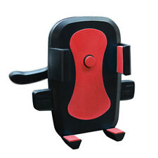 360° Red Mobile Cell Phone Car Sedan Air Vent Condition Mount Cradle Holder Clip