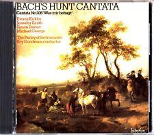 BACH'S HUNT CANTATA- Roy Goodman CD- Emma Kirkby/Jennifer Smith/Simon Davies
