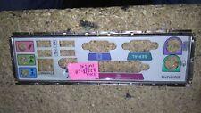 Panneau shield i/o Asus A7N8X-LA REV 2.02 plaque arriere