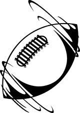 Sticker Rugby 135 Ballon - 57x80 cm