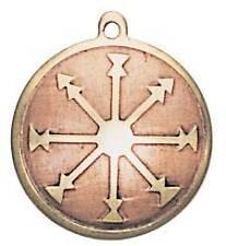Medieval Knight's Templar SELF CONFIDENCE Charm Pendant Amulet Talisman Occult