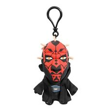 "STAR WARS DARTH MAUL 4"" TALKING PLUSH WITH CLIP NEW GREAT GIFT"