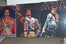 Set of 3 New Michael Jackson Wall Art Picture Box's, Michael Jackson Art 3 for 1