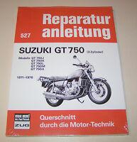 Reparaturanleitung Suzuki GT 750 (3 Zylinder) - Baujahre 1971 bis 1976!