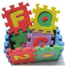 36Pcs Puzzle Baby Kids Toy Alphabet A-Z Numeral Foam Mat For Age 1~7 Puzzle