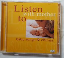 Listen with mother to baby songs & chimes nursery rhymes CD - Brand new!!!