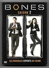 COFFRET 6 DVD / BONES - INTEGRALE SAISON 2 / LES NOUVEAUX EXPERTS DU CRIME
