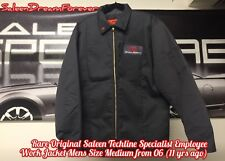 RARE SALEEN EMPLOYEE MECHANIC WORK MENS MED JACKET FRM 2006 FORD GT S281 S331 PJ