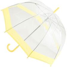 Susino Clear Dome Umbrella - Pastel Yellow
