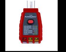 Platinum Tools GFCI Socket Tester 110-125VAC T302c
