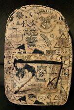Harry Potter Hogwarts Backpack Bag Ministry of Magic Dragon Horcrux Symbols