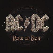 AC/DC 'ROCK OR BUST' LP 180G VINYL + CD NEW / FACTORY SEALED / GATEFOLD