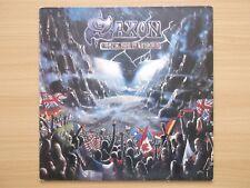 Saxon Rock The Nation A1 B1 emc3515 lp free post