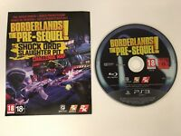 PS3 - Borderlands The Pre-Sequel - Disc & Download Content Only *NEW*