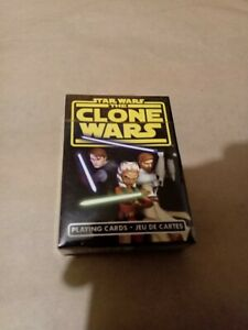 Star Wars Clone Wars Playing Cards New