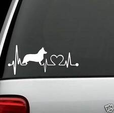 K1055 Cardigan Welsh Corgi Heartbeat© Decal Sticker for Car Truck SUV Van