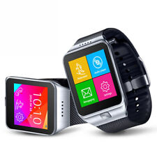 2-in-1 Interconvertible GSM + Bluetooth Smart Watch For iPhone & Android Phone