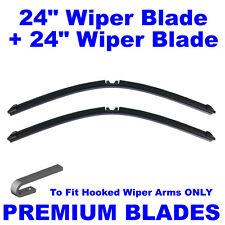 "AERO Multi-Clip 24"" Inch & 24"" Inch Pair Front Windscreen Wiper Blades"