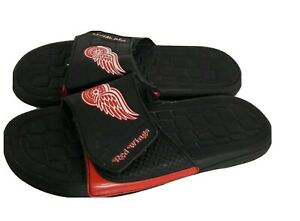 Detroit Red Wing Men's Sandals Rubber Black, Red, and White Size 9 / 10