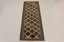 nomades Kelim très bien pièce unique PERSAN TAPIS tapis d'Orient 2,92 x 1,07