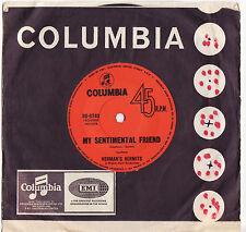 "HERMAN'S HERMITS - MY SENTIMENTAL FRIEND Very rare 1969 Aussie 7"" Single Release"