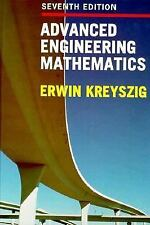 Advanced Engineering Mathematics, 7th Edition, Erwin Kreyszig, Good Condition, B