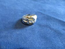Mens Boys Sterling Plated Spinel Fashion Ring Sz 10.75