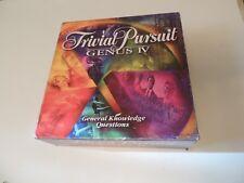 TRIVIAL PURSUIT GENUS 4 IV Hasbro Complete Canadian Version