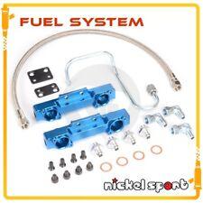 WRX STI GC8 EJ20 For Subaru V3 V4 Fuel Rail & Fuel Oil Line Kit BLUE