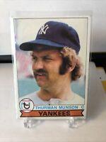 1979 Topps Thurman Munson New York Yankees #310 Baseball Card
